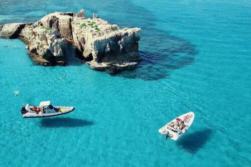 Crystal-clear sea-waters in Tropea(VV)