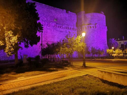 Aragonese Castle by Night, Reggio Calabria