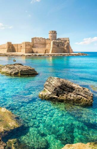 Aragonese Castle, Le Castlella(KR)