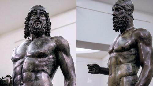 Riace Warriors, Museum of Reggio Calabria
